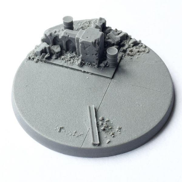 60mm Titan Wars base 1